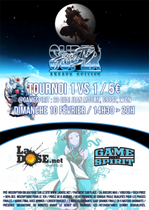 Tournoi SSFIV AE 2012 1v1 - Dimanche 10 Février