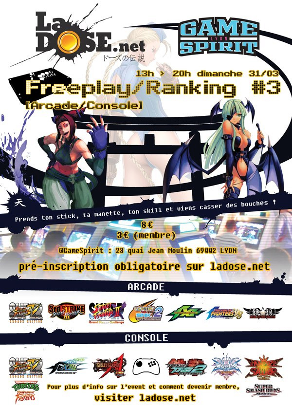 Freeplay Ranking #3