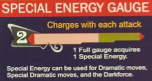 Barre energie