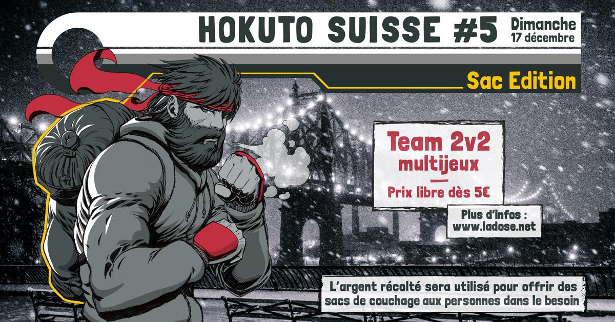 Tournoi caritatif : Hokuto Suisse #5 : 2v2 - Sac Edition