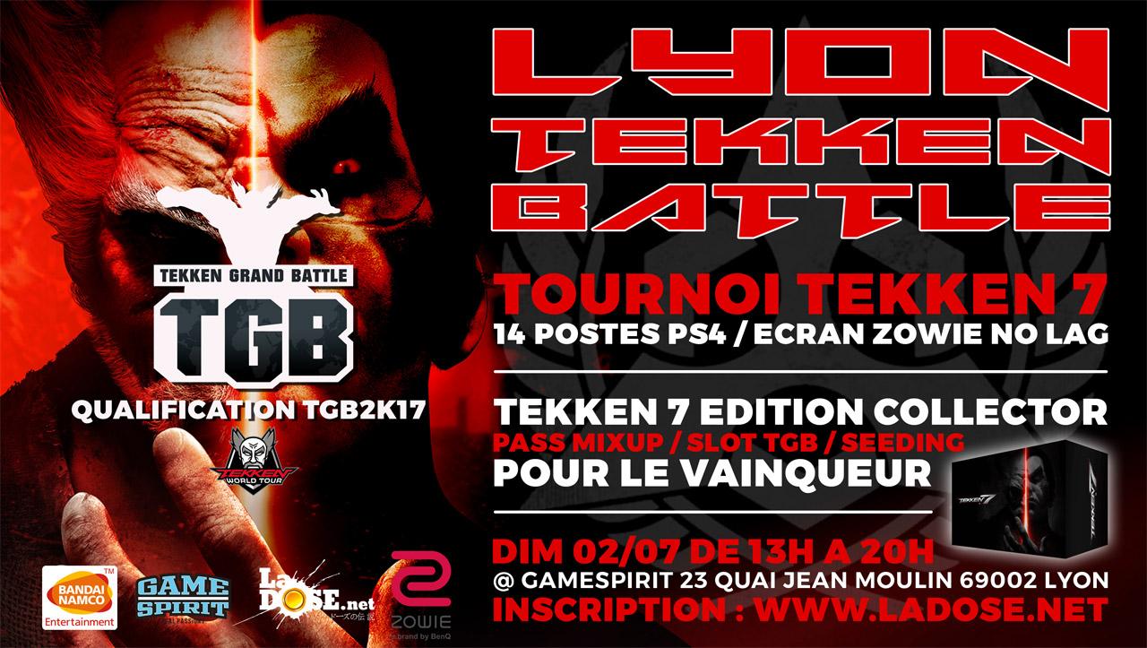 Lyon Tekken Battle - Dimanche 2 juillet