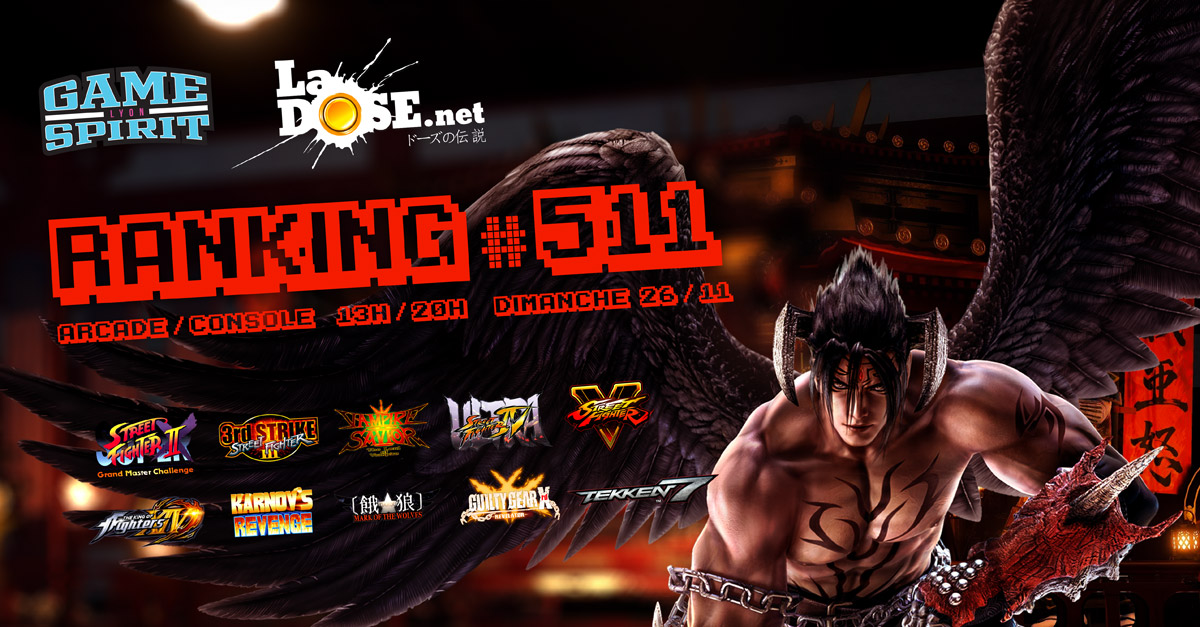 Ranking #511 - Dim. 26 novembre